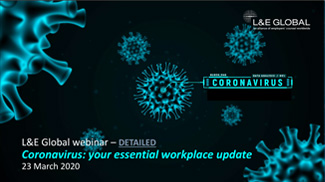Coronavirus: your essential workplace update