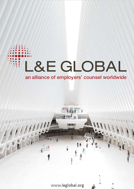 L&E Global an alliance of employers' counsel worldwide